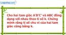 Bài 25 trang 89 SBT toán 8 tập 2