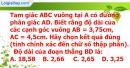 Bài 3.1 phần bài tập bổ sung trang 89 SBT toán 8 tập 2