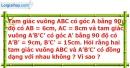 Bài 30 trang 90 SBT toán 8 tập 2