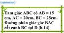 Bài 17 trang 87 SBT toán 8 tập 2