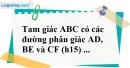 Bài 18 trang 87 SBT toán 8 tập 2