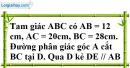 Bài 20 trang 87 SBT toán 8 tập 2