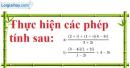 Bài 4.19 trang 204 SBT giải tích 12