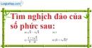 Bài 4.21 trang 204 SBT giải tích 12