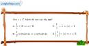 Bài 4.24 trang 204 SBT giải tích 12