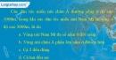 Bài 8 trang 53 vở bài tập Địa lí 7