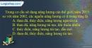 Câu 4 trang 88 SBT địa 10