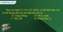 Câu 5 trang 89 SBT địa 10