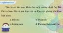 Bài 6 trang 72 vở bài tập Địa lí 7