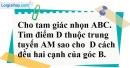 Bài 42 trang 45 SBT toán 7 tập 2
