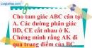 Bài 48 trang 46 SBT toán 7 tập 2