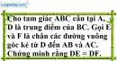Bài 49 trang 46 SBT toán 7 tập 2
