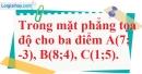 Bài 2.65 trang 106 SBT hình học 10