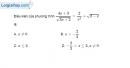 Bài 3.7 trang 57 SBT đại số 10