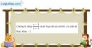 Bài 4.40 trang 208 SBT giải tích 12