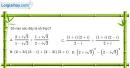 Bài 4.45 trang 208 SBT giải tích 12