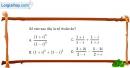 Bài 4.46 trang 209 SBT giải tích 12