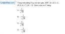 Bài 2.80 trang 108 SBT hình học 10
