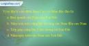 Bài 3 trang 102 vở bài tập Địa lí 7