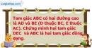 Bài 59 trang 98 SBT toán 8 tập 2