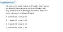 Bài 3.35 trang 75 SBT đại số 10