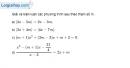 Bài 3.45 trang 77 SBT đại số 10