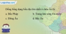 Bài 7 trang 111 vở bài tập Địa lí 7