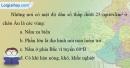 Bài 6 trang 117 vở bài tập Địa lí 7