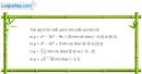 Bài 1 trang 23 SGK Giải tích 12