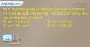 Bài 31.5, 31.6, 31.7, 31.8 trang 73 SBT Vật lí 10