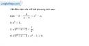 Bài 4.19 trang 107 SBT đại số 10