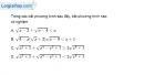Bài 4.31 trang 109 SBT đại số 10