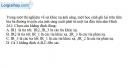 Bài 26.2, 26.3 trang 69 SBT Vật Lí 11