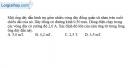 Bài V.1 trang 66 SBT Vật Lí 11
