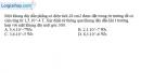 Bài V.2 trang 66 SBT Vật Lí 11