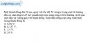 Bài V.5 trang 66 SBT Vật Lí 11