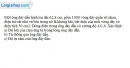 Bài V.8 trang 67 SBT Vật Lí 11