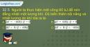 Bài 32.5, 32.6, 32.7, 32.8 trang 78 SBT Vật lí 10