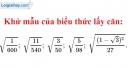 Bài 48 trang 29 sgk Toán 9 - tập 1