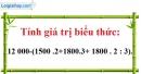 Bài 78 trang 33 SGK Toán 6 tập 1