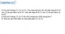Bài 27.7 trang 73 SBT Vật Lí 11