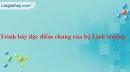 Bài 10 trang 108 SBT Sinh học 7