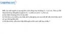 Bài 31.13 trang 88 SBT Vật lý 11