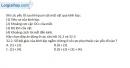 Bài 32.2; 32.3 trang 89 SBT Vật lý 11