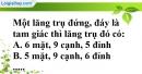 Bài 27 trang 138 SBT toán 8 tập 2