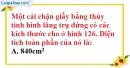 Bài 36 trang 142 SBT toán 8 tập 2