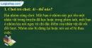 A. Hoạt động cơ bản - Bài 2C: Đáng yêu hay đáng ghét