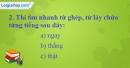 B. Hoạt động thực hành - Bài 4A: Làm người chính trực