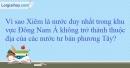 Vì sao Xiêm là nước duy nhất trong khu vực Đông Nam Á không trở thành thuộc địa của các nước phương Tây ?