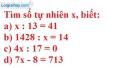 Bài 44 trang 24 SGK Toán 6 tập 1